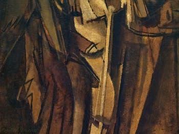 Marcel Duchamp, Étude de Nu, Jeune Homme Triste dans un Train, au musée Peggy Guggenheim à Venise.