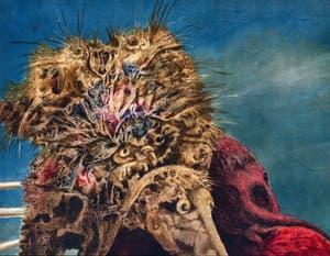 Max Ernst, L'Antipape, au musée Peggy Guggenheim à Venise.