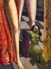 Max Ernst, La Toilette de la Mariée, au musée Peggy Guggenheim à Venise.