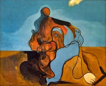 Max Ernst, Le Baiser, au musée Peggy Guggenheim à Venise.