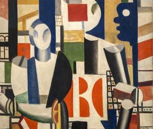 Fernand Léger, Les Hommes dans la Ville, au musée Peggy Guggenheim à Venise