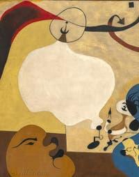 Joan Miró, Intérieur Hollandais, au musée Peggy Guggenheim à Venise