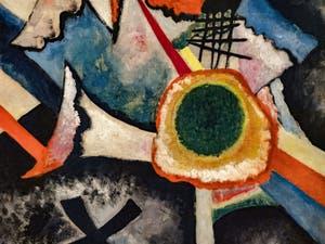 Wassily Kandinsky, Croix Blanche, au musée Peggy Guggenheim à Venise