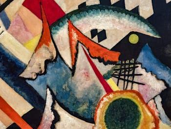 Vassily Kandinsky, Croix Blanche, au musée Peggy Guggenheim à Venise