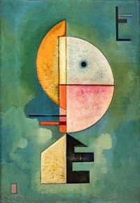 Wassily Kandinsky, Vers le Haut, au musée Peggy Guggenheim à Venise