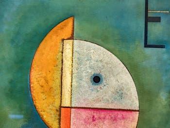 Vassily Kandinsky, Vers le Haut, au musée Peggy Guggenheim à Venise