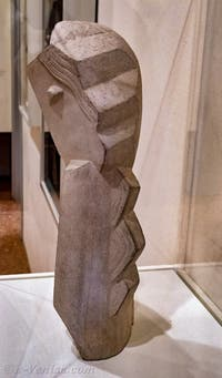Henri Laurens, Tête de Jeune Fillette, au musée Peggy Guggenheim à Venise