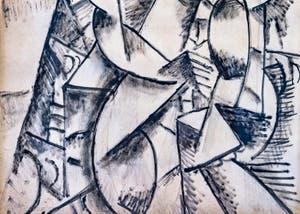Fernand Léger, Étude de Nu, Musée Peggy Guggenheim à Venise