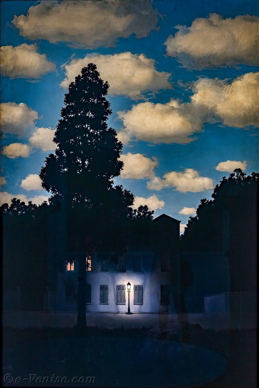 Rene Magritte L Empire Des Lumieres Peggy Guggenheim Venise