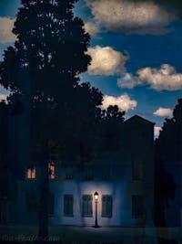 René Magritte, L'Empire des Lumières, au Musée Peggy Guggenheim à Venise