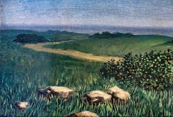 René Magritte, La Voix des Airs, au Musée Peggy Guggenheim à Venise
