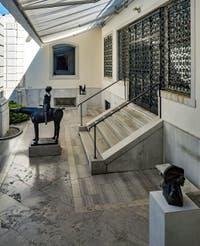 Marino Marini, L'Ange de la Ville, au musée Peggy Guggenheim à Venise