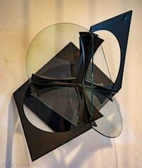 Antoine Pevsner, La Croix Ancrée, au Musée Peggy Guggenheim à Venise
