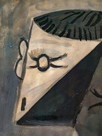 Pablo Picasso, Buste d'Homme en Tricot Rayé, au musée Peggy Guggenheim à Venise.