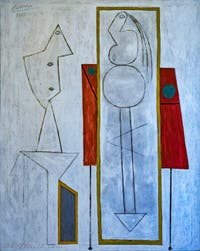 Pablo Picasso, L'Atelier, au musée Peggy Guggenheim à Venise.