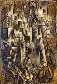 Pablo Picasso, Le Poète, au musée Peggy Guggenheim à Venise.