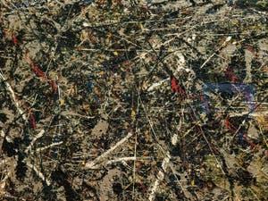 Jackson Pollock, Alchimie, au musée Peggy Guggenheim à Venise