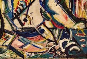 Jackson Pollock, Circoncision, au musée Peggy Guggenheim à Venise