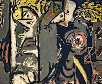 Jackson Pollock, Deux, au musée Peggy Guggenheim à Venise