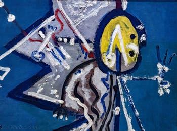 Jackson Pollock, Direction, au musée Peggy Guggenheim à Venise