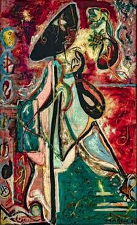 Jackson Pollock, la Femme Lune, au musée Peggy Guggenheim à Venise