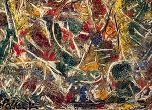 Jackson Pollock, Croaking Movement ou Mouvement Croassant ou Coassant, au musée Peggy Guggenheim à Venise