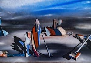 Yves Tanguy, En Lieu Oblique, au musée Peggy Guggenheim à Venise