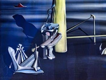 Yves Tanguy,Le Soleil dans son Écrin, au Musée Peggy Guggenheim à Venise