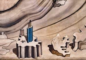 Yves Tanguy,Palais Promontoire, au musée Peggy Guggenheim à Venise