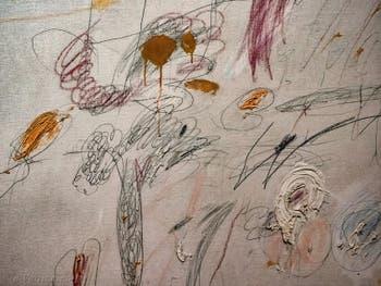 Cy Twombly, Sans Titre 1961, au Musée Peggy Guggenheim à Venise