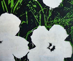 Andy Warhol, Fleurs, au Musée Peggy Guggenheim à Venise