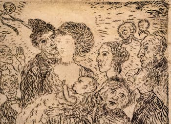 James Ensor, L'Envie, Galerie Internationale d'Art Moderne Ca' Pesaro à Venise Italie
