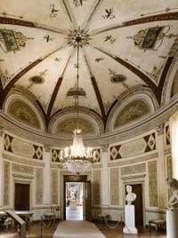 Le Salon Rond du Musée Correr à Venise