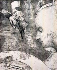 Odilon Redon, L'Art Céleste, Galerie Internationale d'Art Moderne Ca' Pesaro à Venise