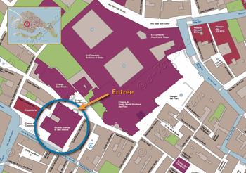 Plan de Situation du XYNomMusee à Rome Italie