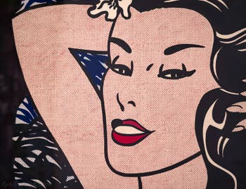 Roy Lichtenstein, Little Aloha, Galerie Internationale d'Art Moderne Ca' Pesaro à Venise en Italie