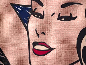 Roy Lichtenstein, Little Aloha, Galerie Internationale d'Art Moderne Ca' Pesaro à Venise en Italie