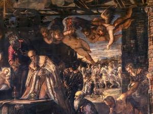 Le Tintoret, L'Adoration des Rois Mages, Scuola Grande San Rocco à Venise