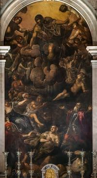 Le Tintoret, L'Apparition de Saint-Roch, Scuola Grande San Rocco à Venise