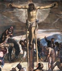 Le Tintoret, Crucifixon, Scuola Grande San Rocco à Venise