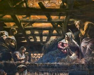 Le Tintoret, L'Adoration des Bergers, Scuola Grande San Rocco à Venise