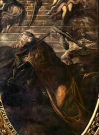 Le Tintoret, L'échelle ou La Vision de Jacob, Scuola Grande San Rocco à Venise
