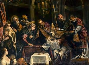 Le Tintoret, La Circoncision, Scuola Grande San Rocco à Venise