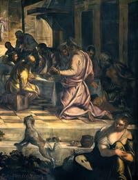 Le Tintoret, La Dernière Cène, Scuola Grande San Rocco à Venise