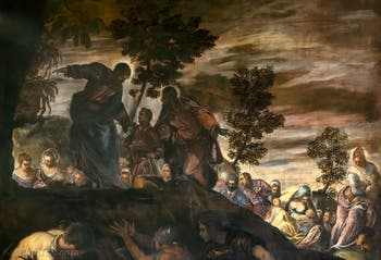 Le Tintoret, La Multiplication des Pains et des Poissons, Scuola Grande San Rocco à Venise