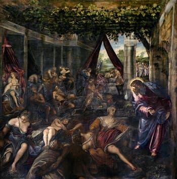 Le Tintoret, La Piscine Probatique, Scuola Grande San Rocco à Venise