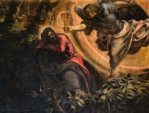 Le Tintoret, Jacopo Robusti, La Prière dans le Jardin des Oliviers à la Scuola Grande San Rocco à Venise