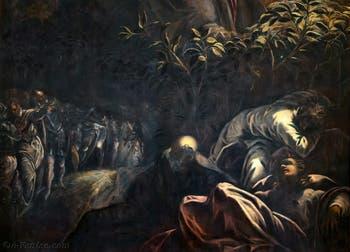 Le Tintoret, La Prière dans le Jardin des Oliviers, Scuola Grande San Rocco à Venise
