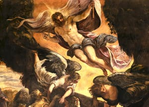 Le Tintoret, La Résurrection du Christ, Scuola Grande San Rocco à Venise