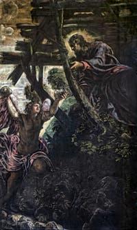 Le Tintoret, La Tentation du Christ, Scuola Grande San Rocco à Venise
